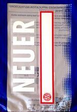 2016-18 Bayern Munich Home Gk Shirt Neuer #1 conjunto de número de nombre oficial sportingid