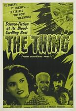 The Thing from another world Horror movie poster print #124