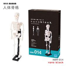 Nanoblock Esqueleto Humano Modelo Mini Ladrillos piezas de puzzle Gran Regalo Nbm 014