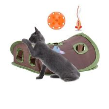 Cat Toys Hunt for Undercover Mouse and Ball Crinkly Sound Best Interactive toy