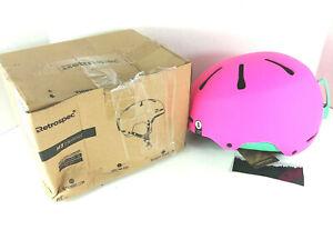 Retrospec ~ Traverse H3 ~ Youth Ski Snowboard Helmet ~ Matte Magenta 52 - 55 cm