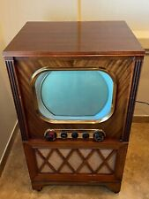 The Hallicrafters Model 818 Vintage 1951 Tv PhotoFact Tv Am Phono - Very Rare !