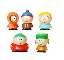 5pcs LOT South Park Cartman Kyle Broflovski Kenny 6cm Figure Gift