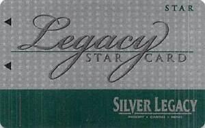 Silver Legacy Casino - Reno, NV - Slot Card