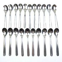 Sola 981 Stainless Flatware Lot Of 21 Pieces Tea Spoons