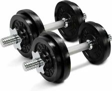 Yes4All 60 lbs Adjustable Dumbbell Set Pair with Connector
