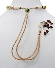 6 Pcs Babosa Sakhi Necklace Back Adjustable Cord Rope Dori For Ethnic Jewelry