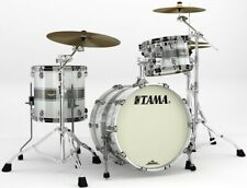 "Tama Starclassic Maple ma 30 cmbns-SSR 20""/12""/14"" Silver Snow racing stripe"