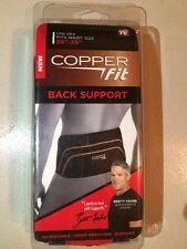 Copper Fit Pro Back Support Black with Copper Trim Small/Medium