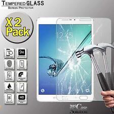 "Pack 2 Protector de Pantalla de Vidrio Templado para Samsung Tab S2 8"" T710 T715 Tablet"