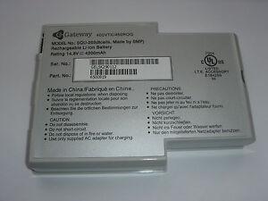 Original Battery Gateway SQU-203 Solo 400 450 450E Genuine Battery New