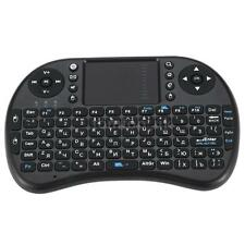 Wireless Russian Keyboard Handheld Touchpad for Andriod Box Smart TV PC W4P3