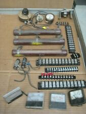 Electrical Meters Rheostats Resisters Terminal Strips Large Lot All Us Made