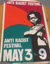More details for original 1970s anti racism poster very rare