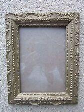Antique 7 x 9 Wooden Frame Gold In Color