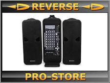 NOWSONIC Roadtrip 508 PA System Mobil 3 Wege 16 Fach Multieffekt Mixer B-Ware