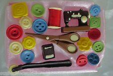 Hand-made Belgian Chocolate Sewing Kit Gift Box