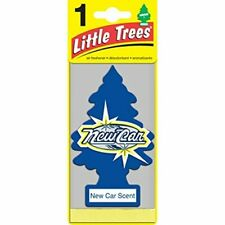 1 Pack Little Trees Car Home Office Hanging Air Freshener New Car Scent