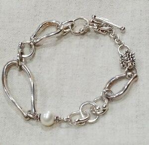 925 Sterling Silver Bracelet Bracelet Pearl Jewelry LET-2852