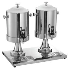 """Hubert Milk Dispenser with Two Dispensers - 23"""" L x 14 1/8 W x 21"""" H"""