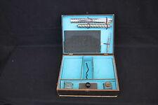 Ancienne boite coffret jeu PAPETERIE écriture flacon règle buvard P961