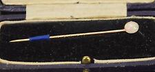 Australian 15kt Yellow Gold and Opal Stick Pin Stewart Dawson & Co. Box