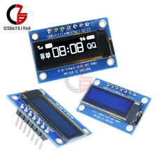 "White 0.91"" 128×32 SPI OLED Module SSD1306 Graphic Display for Arduino DC 3.3-5V"