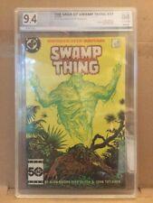 Swamp Thing #37 1st Full App John Constantine PGX 9.4 Not CGC