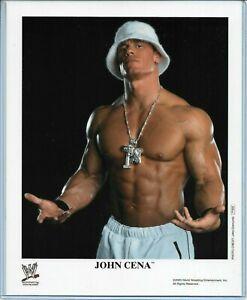 WWE JOHN CENA P-809 OFFICIAL LICENSED AUTHENTIC ORIGINAL 8X10 PROMO PHOTO RARE