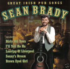 SEAN BRADY - Great Irish Pub Songs (UK 14 Tk CD Album)