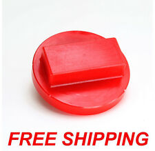 1 RED Polyurethane BMW Floor Jack Pad Adapter 128 135 323 325 328 330 335 535