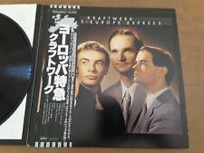 Kraftwerk - Trans-Europe Express - Audiophile Japan LP + OBI & Insert 1977 RARE