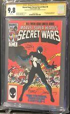 MARVEL SUPER HEROES SECRET WARS #8 CGC 9.8 SS DBL SIGNED  AND SECRET WARS #1 SET