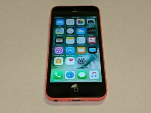 Apple iPhone 5C A1532 16GB AT&T Wireless Pink Smartphone/Cell Phone *Tested*