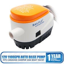 Automatic 12 Volt Bilge Pump 750GPH With Internal Float Switch Auto Water Boat