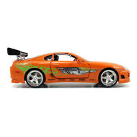 FAST & FURIOUS 2 Fast 2 Furious Brian's 1995 Toyota Supra Sport Die-cast Toy Car