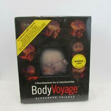 BodyVoyage  Interactive multimedia CD 1997 by Alexander Tsiaras Sealed