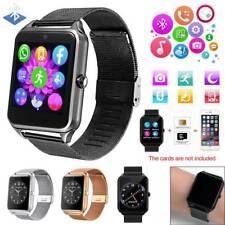 Men Women Bluetooth Smart Watch Phone SIM GSM For LG Samsung A21 A31 A41 A51 A71