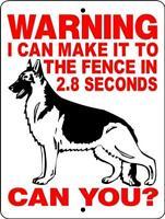 1712 GERMAN SHEPHERD DOG SIGN,9 X 12 ALUMINUM SIGN,SECURITY,WARNING,