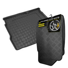 Kia Magentis (06/2001 - 2006) Rubber Car Mats + Tailored PVC Boot Liner [U]