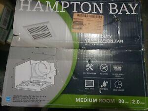 Hampton Bay 80 CFM Heavy-Duty Ventilation Fan New