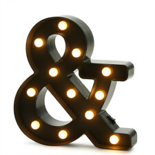 Ampersand LED Sign - 10""