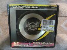 "Lightning Audio P3.10.4 1-Way 10"" Car Subwoofer BRAND NEW"
