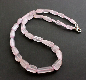 Kunzite Chain Ederlsteinkette Spodumene Rarely Pink Necklace 180 CT /18 1/8in