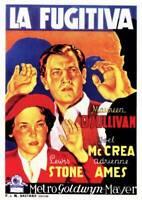 OLD MOVIE PHOTO Woman Wanted Poster Maureen Osullivan Joel Mccrea