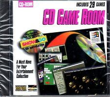 CD Game Room (Includes 29 Games) (PC-CD, 1995) for Windows - NEW in SLEEVE