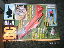 RC Pilot n°19 Plan encarté F14 & F22 Speed Flyers / Tiny Lama Spacewalker 2