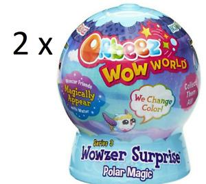 2 x ORBEEZ WOW WORLD WOWZER SURPRISE PETS series 3