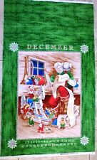 CHRISTMAS FABRIC PANEL DEAR SANTA FABRIC MAYWOOD STUDIO BTP NEW