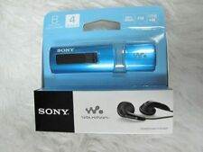 Sony Walkman NWZ-B183F B180 Series 4GB USB MP3-player blue